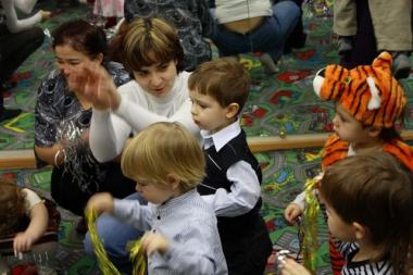 26 декабря 2011 г. - Новогодний карнавал для детей 1-3 лет