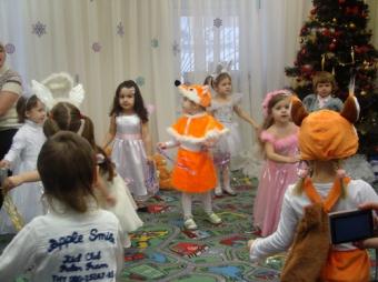 26 декабря 2011 г. - Новогодний карнавал для детей 3-4 лет